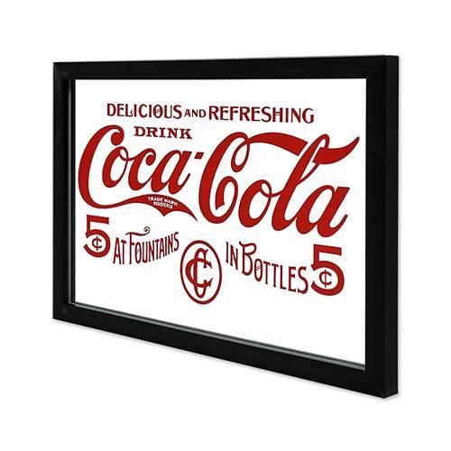 Coke (コカ・コーラ) ガレージ・ミラー COCA-COLA IN BOTTLES CC-CA-GM-189959|swam