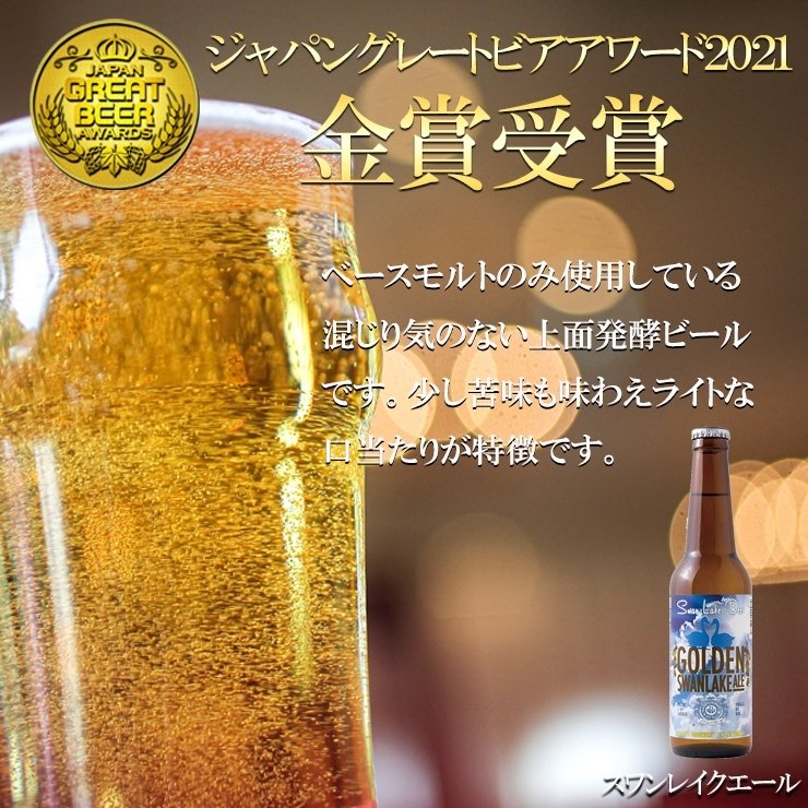 クラフトビール ギフト 世界一金賞受賞 スワンレイクビール 飲み比べ 6本詰め合わせ B-IPA 地ビール swanlakebeer 06