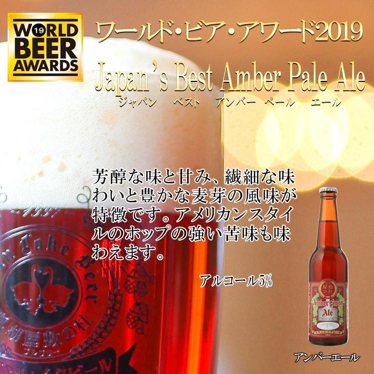 ギフト クラフトビール ビール 地ビール ギフト スワンレイクビール 飲み比べ 金賞3本セット 本州 送料無料 ご贈答用 包装熨斗 craft beer|swanlakebeer|04