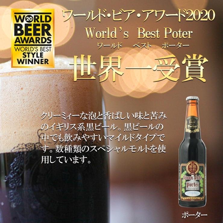 ギフト クラフトビール ビール 地ビール ギフト スワンレイクビール 飲み比べ 金賞3本セット 本州 送料無料 ご贈答用 包装熨斗 craft beer|swanlakebeer|05
