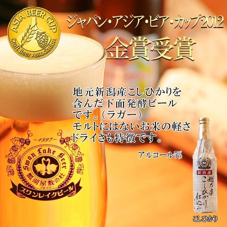 ギフト クラフトビール ビール 地ビール ギフト スワンレイクビール 飲み比べ 金賞3本セット 本州 送料無料 ご贈答用 包装熨斗 craft beer|swanlakebeer|06