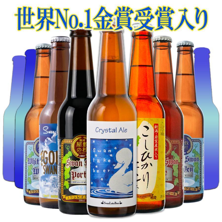 ビール クラフトビール 世界一受賞ビール飲み比べ 限定ビール入り 10本詰め合わせ 【新緑】 サンキューセット B-IPA ミエルブラン 地ビール 送料無料 swanlakebeer