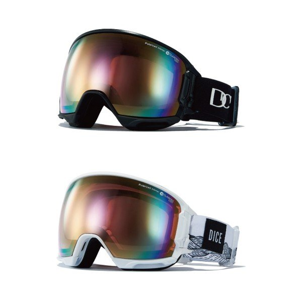 DICE ダイスゴーグル 公式 HIGH ROLLER HR91361 全2色 ハイローラー スノーゴーグル 偏光 スノボ