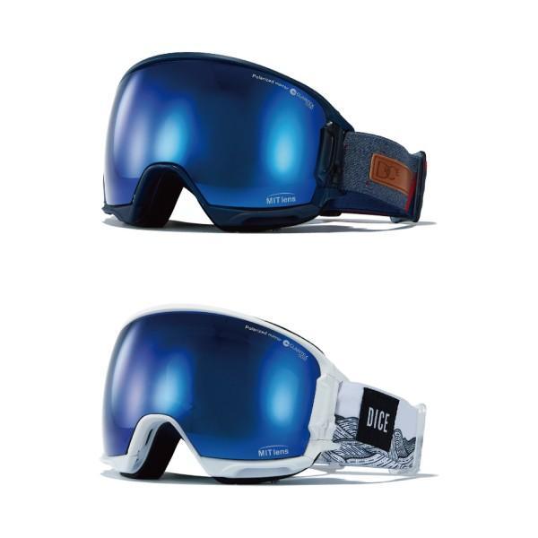 DICE ダイスゴーグル 公式 HIGH ROLLER HR90893 全2色 ハイローラー スノーゴーグル MITミラー 偏光 スノボ