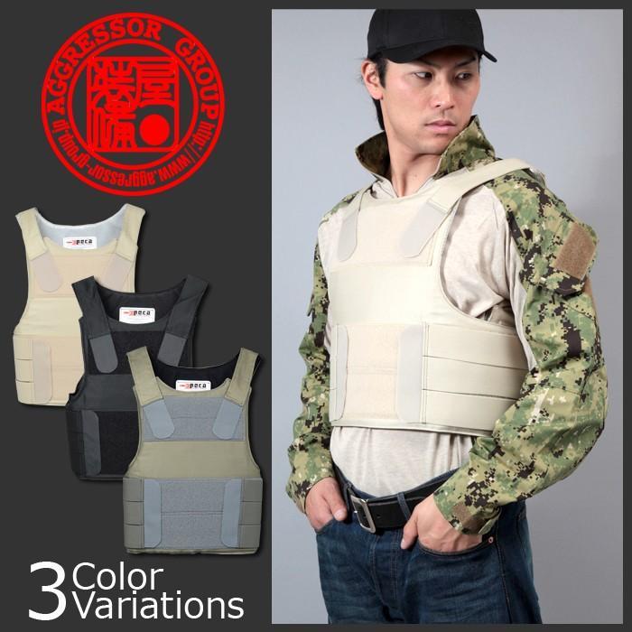 AGGRESSOR GROUP(アグレッサーグループ) PECA PERSONAL BODY ARMOR REP V2 COTTON/ORIGINAL ダミーアーマーセット