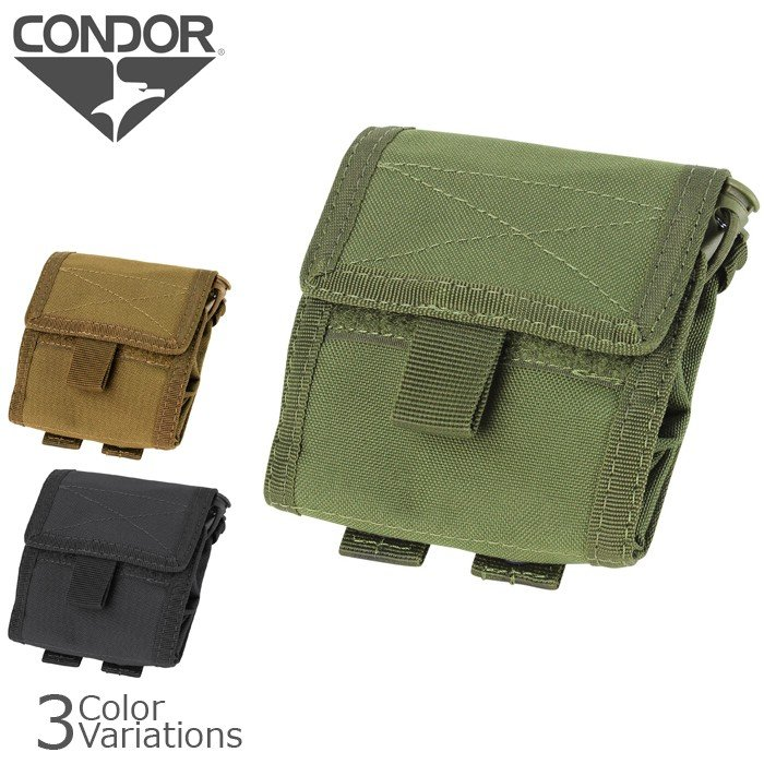 Up Utility Pouch Black CONDOR MA36-002 Roll