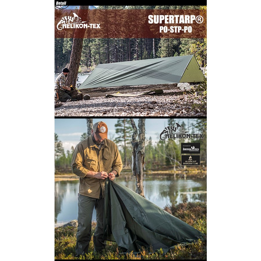 Helikon-Tex Supertarp Nero