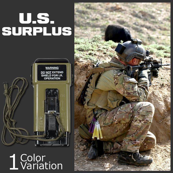 U.S SURPLUS(USサープラス) 米軍放出未使用品 MS2000M ディストレス マーカー ストロボ 6230-01-411-8535