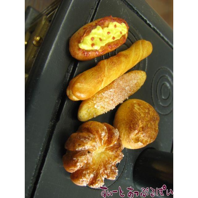 高級品 専門店 ミニチュア 田舎パン 5個セット IDSMBL2 ドールハウス用