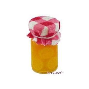 ミニチュア オレンジのシロップ漬け 賜物 ガラスボトル入り ドールハウス用 SMBTFV2 推奨