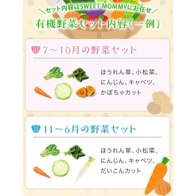 野菜 詰め合わせ セット オーガニック 5種類以上 有機野菜 送料無料 お試し ベジリッチ マタニティ 葉酸 お試し ベジリッチ 美白菜 美青菜|sweet-mommy|08
