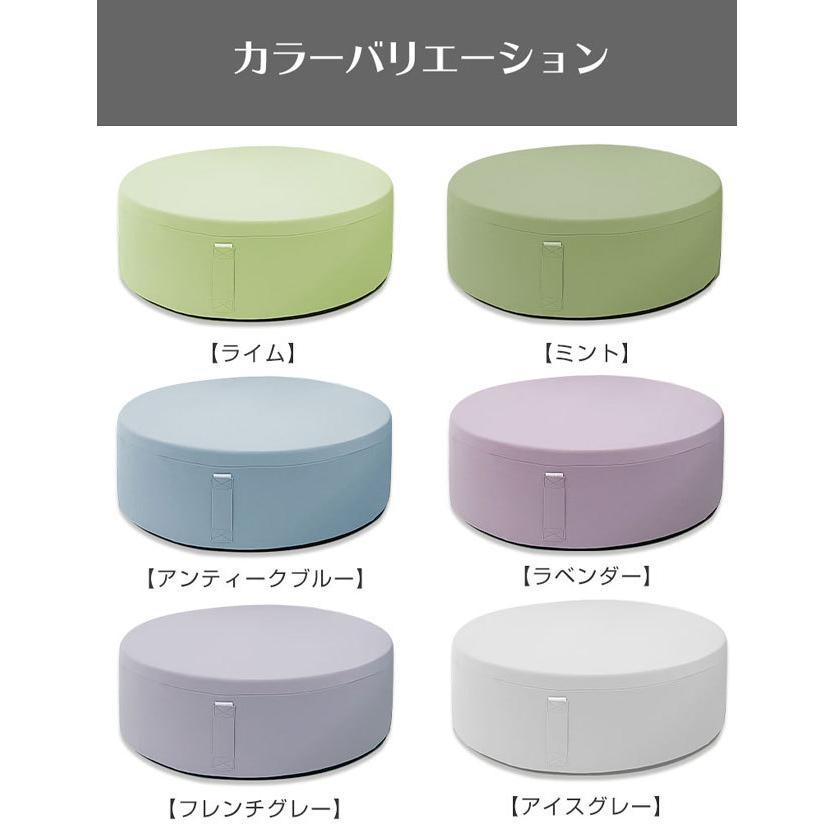 トランポリン クッション 日本製 家庭用 子供 静音 クッション型 20cm 厚 室内 リビング ダイエット スツール カバー 効果 家庭 マット|sweet-mommy|18