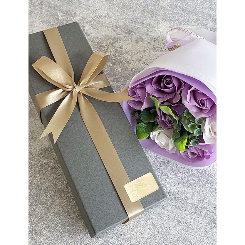母の日 2021 ホテル スイーツ 花 ソープフラワー セット【Petit】 お菓子 パウンドケーキ プレゼント ラッピング|sweet-mommy|18