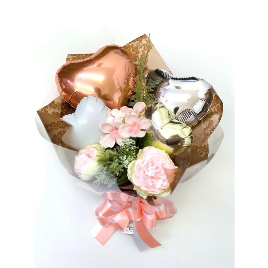 お祝い 発表会 バルーンブーケ メッセージ無料 sweetflower