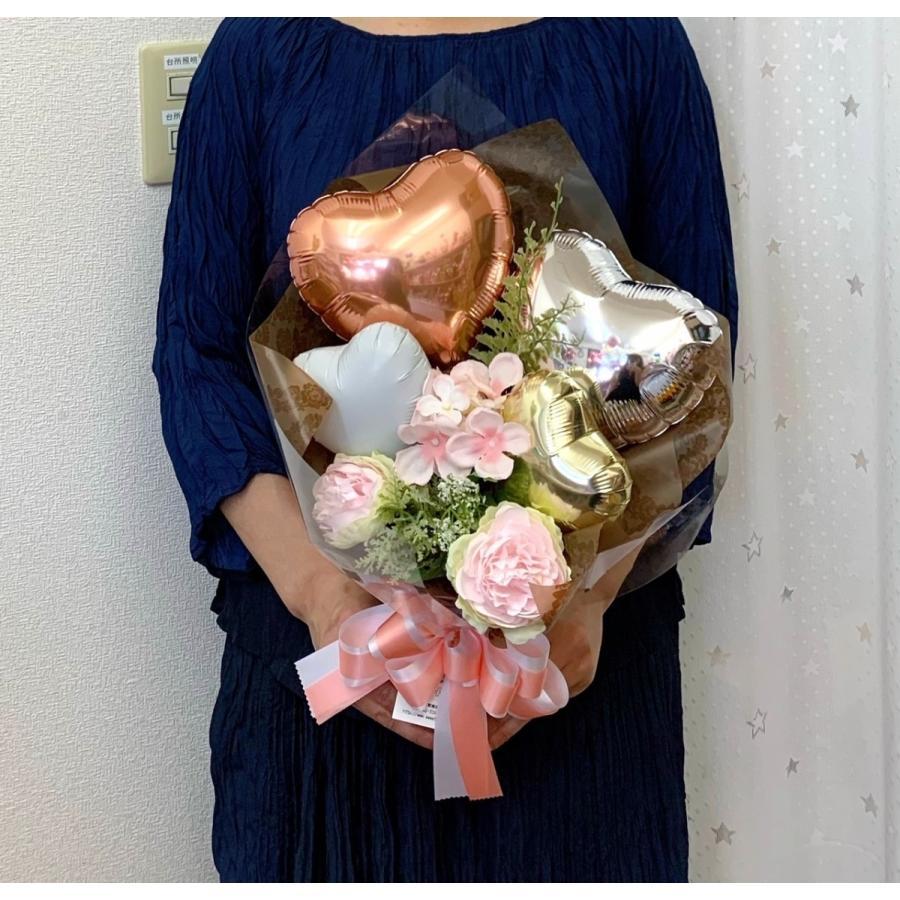お祝い 発表会 バルーンブーケ メッセージ無料 sweetflower 02