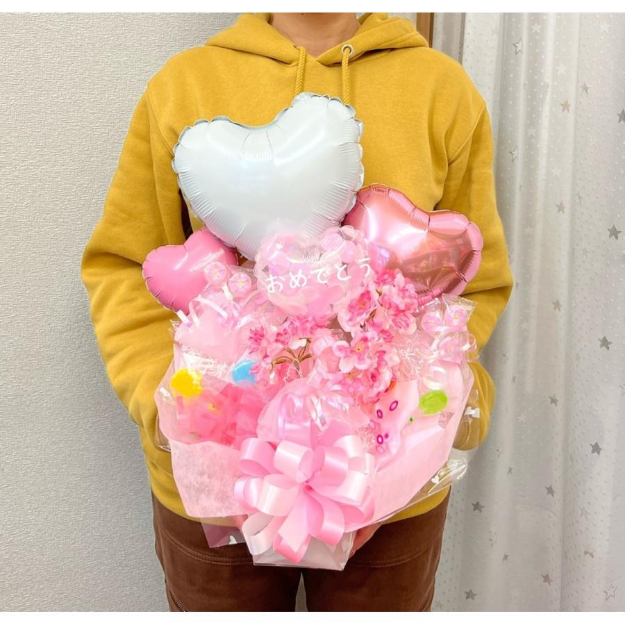 合格祝 卒業祝 入学祝 桜のブーケ|sweetflower|04
