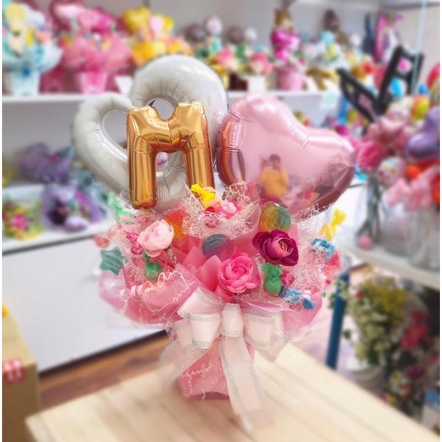 キャンディブーケ お祝い メッセージ無料 楽屋花に|sweetflower