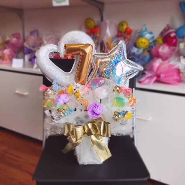 キャンディブーケ お祝い メッセージ無料 楽屋花に|sweetflower|03