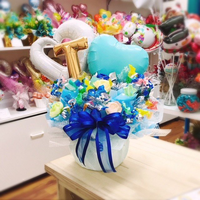 キャンディブーケ お祝い メッセージ無料 楽屋花に|sweetflower|04