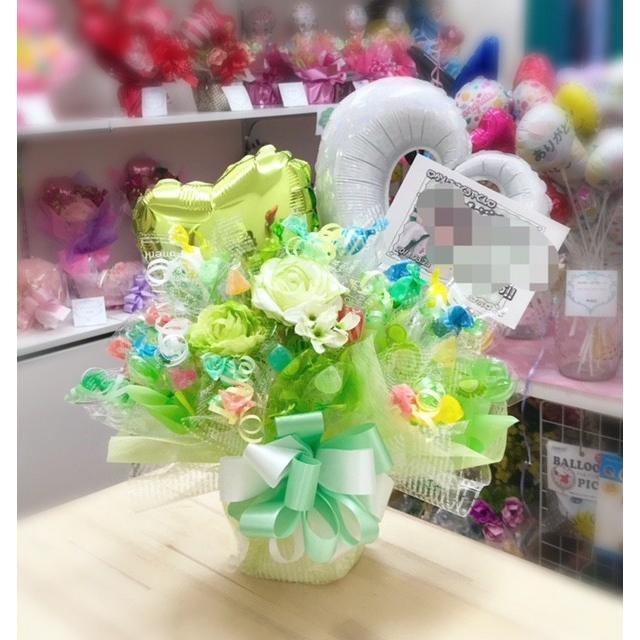 キャンディブーケ お祝い メッセージ無料 楽屋花に|sweetflower|05