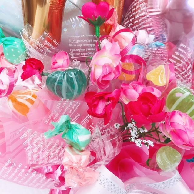 キャンディブーケ お祝い メッセージ無料 楽屋花に|sweetflower|07