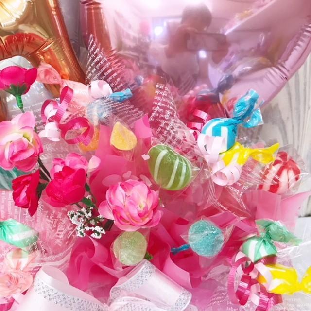 キャンディブーケ お祝い メッセージ無料 楽屋花に|sweetflower|08