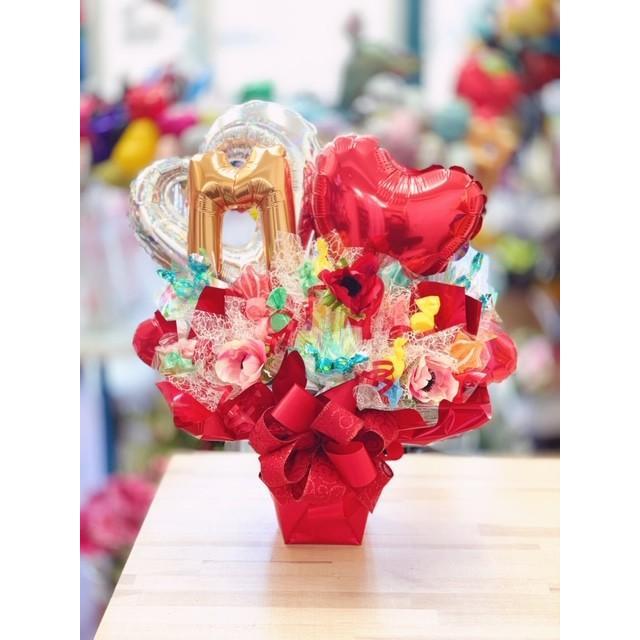 キャンディブーケ お祝い メッセージ無料 楽屋花に|sweetflower|09