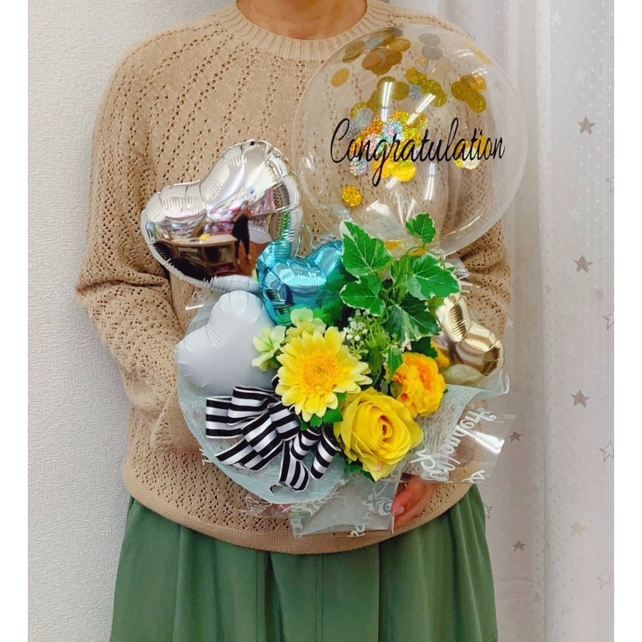 各種お祝い  バルーンギフト メッセージ無料|sweetflower|02