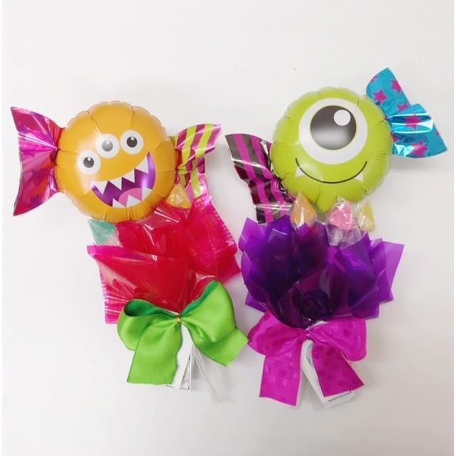ハロウィン キャンディブーケ プレゼント バルーンギフト|sweetflower