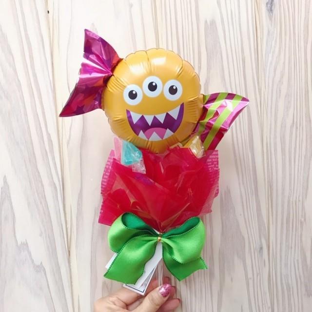 ハロウィン キャンディブーケ プレゼント バルーンギフト|sweetflower|02
