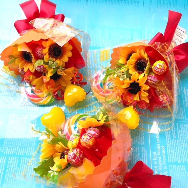 キャンディブーケ プレゼント 発表会 バルーンギフト|sweetflower