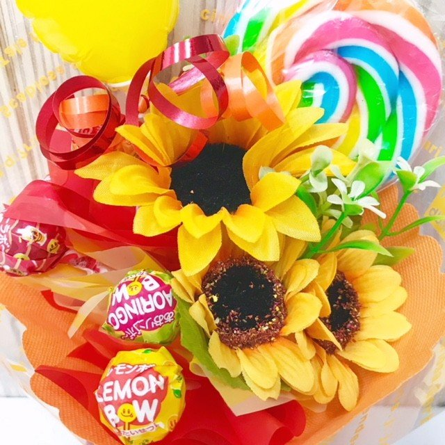 キャンディブーケ プレゼント 発表会 バルーンギフト|sweetflower|04