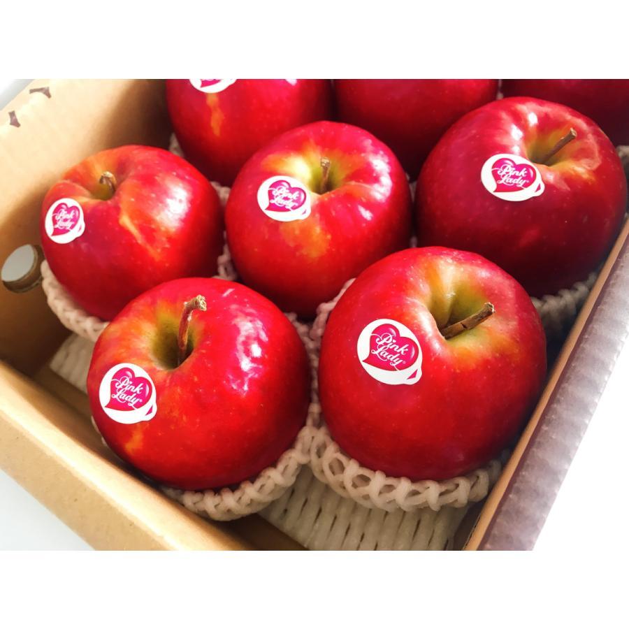 【志藤農園】りんご ピンクレディ 2kg(8〜12玉) sweetjuicyparadise 05