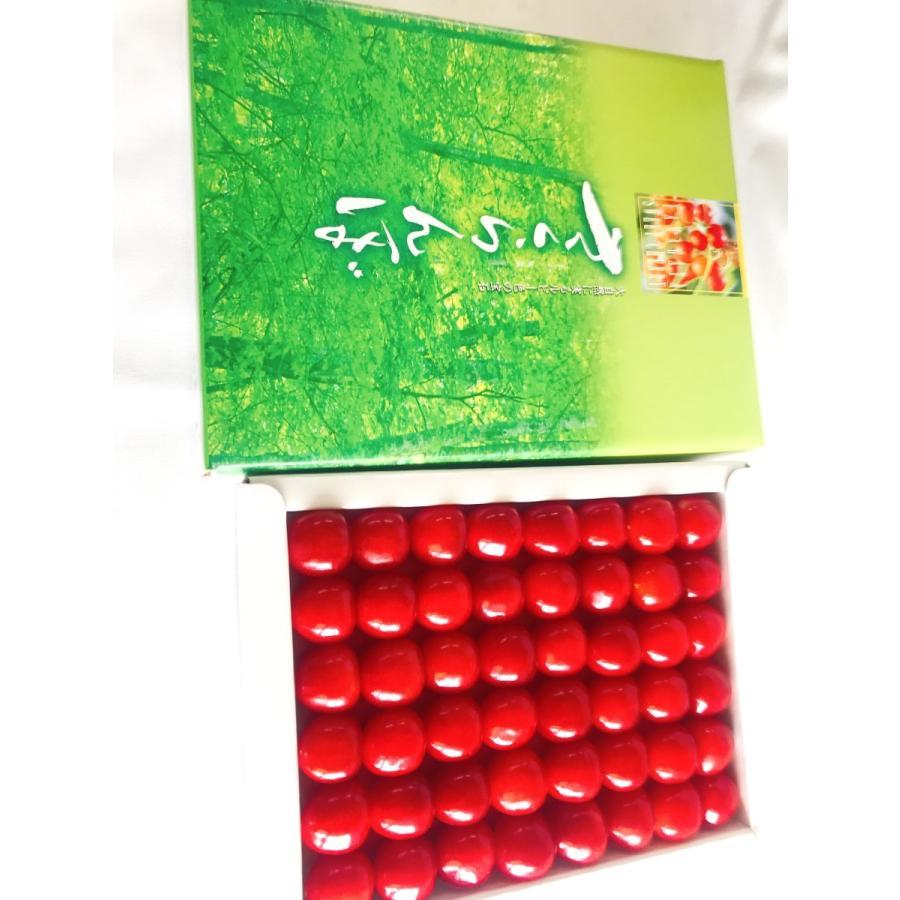 【一愛農園】さくらんぼ佐藤錦 山形県東根市 300g Lサイズ 贈答ギフト用|sweetjuicyparadise|04
