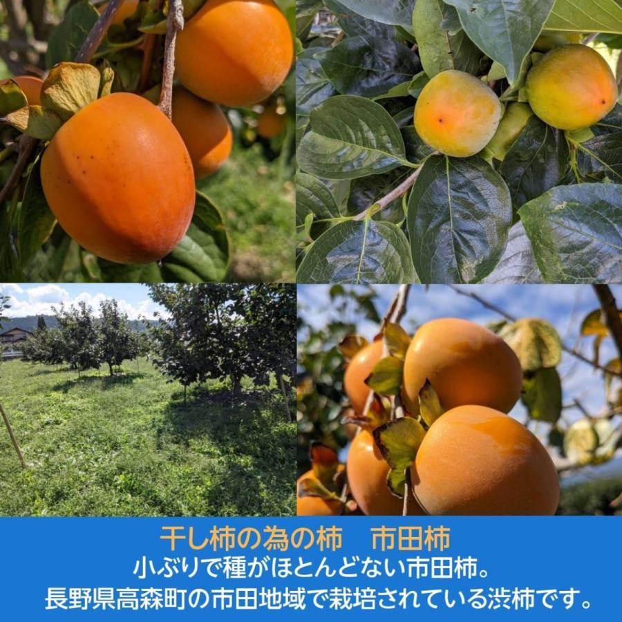 【ご家庭用】市田屋 市田柿 2Lサイズ 1kg 袋入り 約30粒前後|sweetjuicyparadise|09