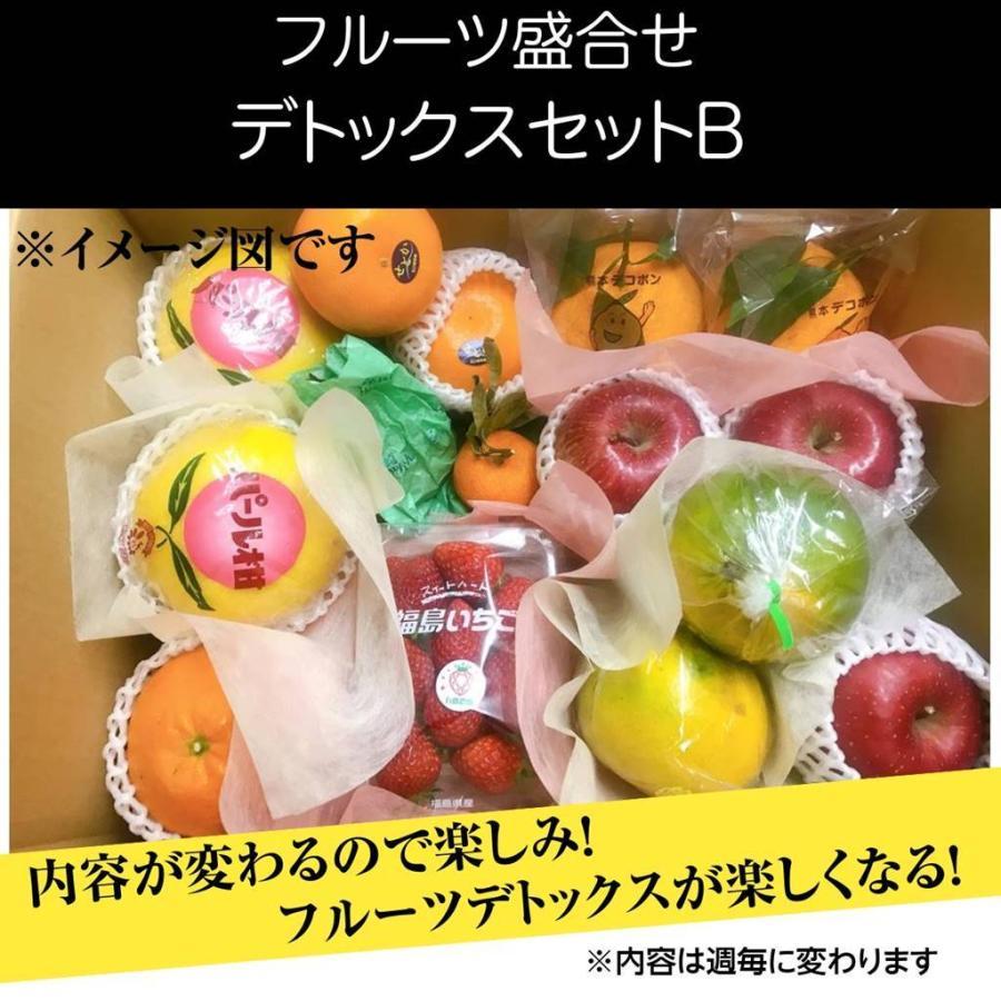 送料無料でお届けします 果物フルーツ詰め合わせ デトックスセットB セール価格 6〜7食分