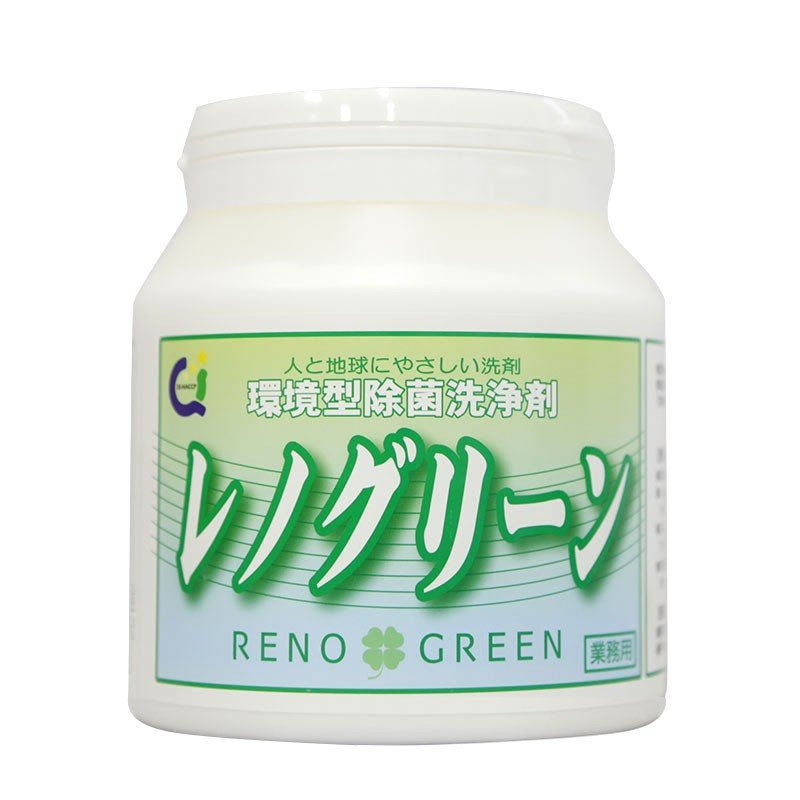 業務用 除菌 洗浄剤 ナインリボルバー レノグリーン 1kg(常温)|sweetkitchen