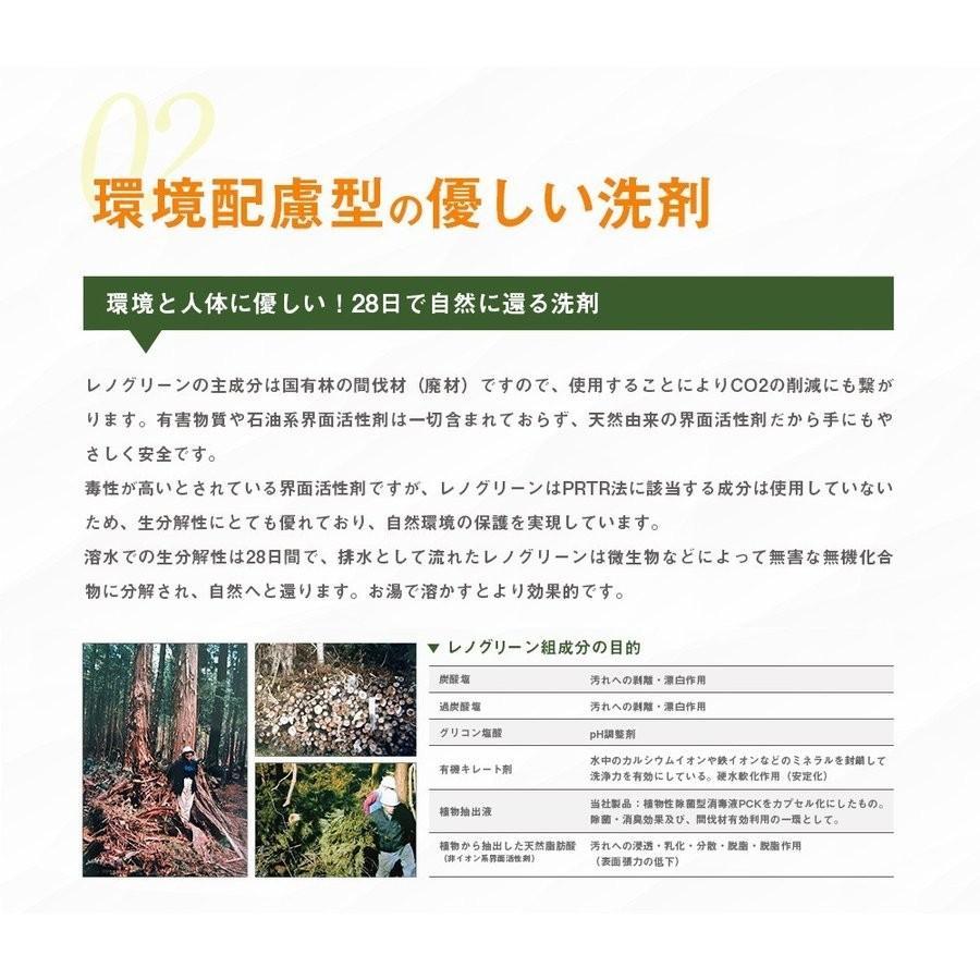 業務用 除菌 洗浄剤 ナインリボルバー レノグリーン 1kg(常温)|sweetkitchen|09