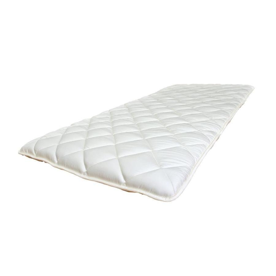 代引き不可防ダニ・抗菌防臭・吸汗速乾わた使用! 3層硬綿敷ふとん寝室 ダニ防止 布団