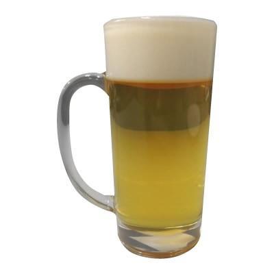 日本職人が作る 食品サンプル 生ビール 360ml IP-155展示 フェイクフード ビールグラス
