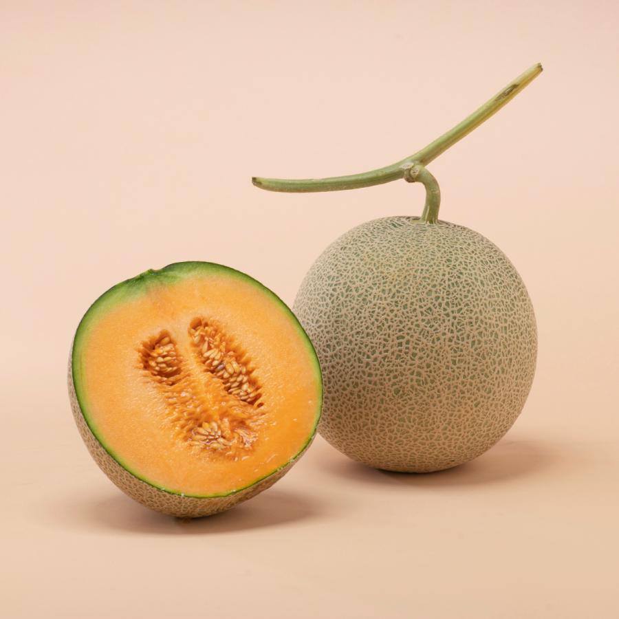メロン 富良野メロン 北海道産 赤肉 秀品 2Lサイズ 2玉 約1.5kg以上 送料無料 sweetvegetable 02