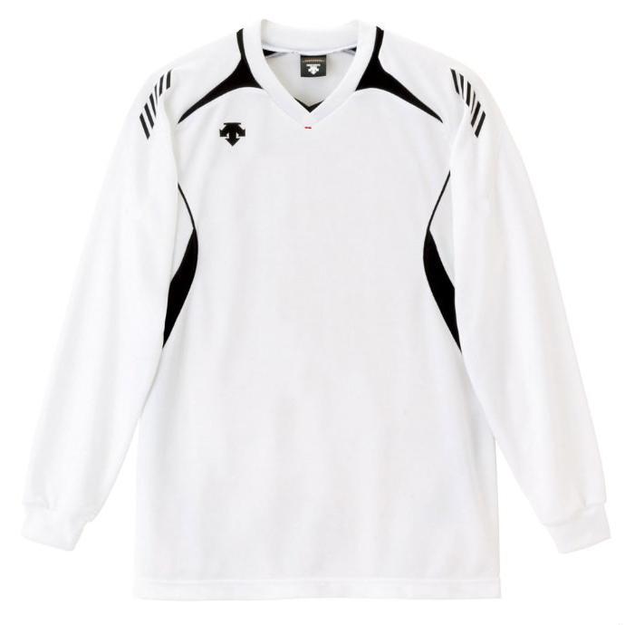 DESCENTE (デサント) 長袖ゲームシャツ(ユニセックス) DSS4912 WBK 1612 メンズ レディース