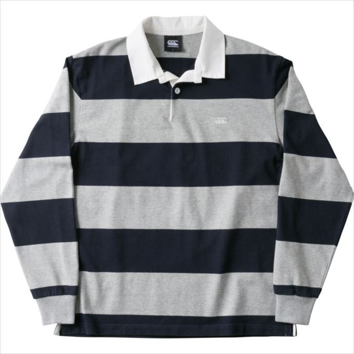 CANTERBURY (カンタベリー) 4INCH STRIPE RUGBY JERSEY 29 RA48561 1810 メンズ