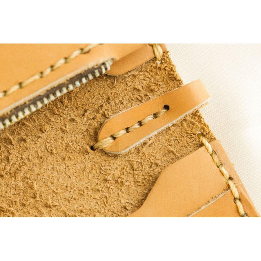 メンズ 本革製 ハンドメイドウォレット 手縫い ビジネス カジュアル兼用使用可能デザイン 送料無料|swingdog|11