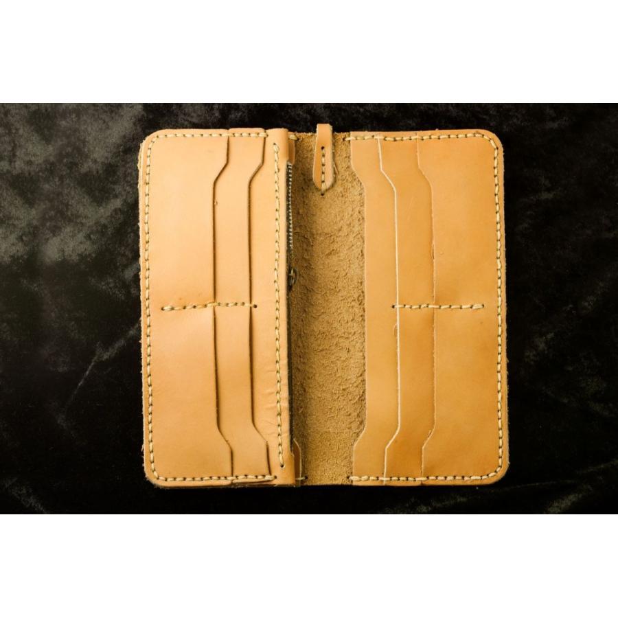 メンズ 本革製 ハンドメイドウォレット 手縫い ビジネス カジュアル兼用使用可能デザイン 送料無料|swingdog|04