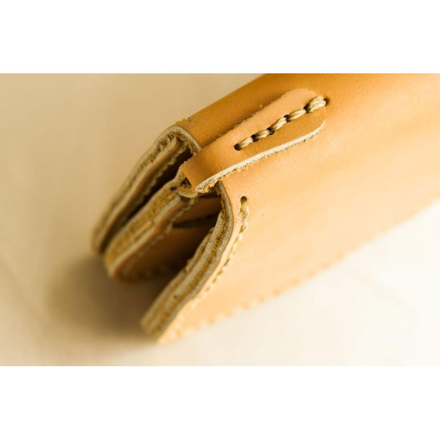 メンズ 本革製 ハンドメイドウォレット 手縫い ビジネス カジュアル兼用使用可能デザイン 送料無料|swingdog|10