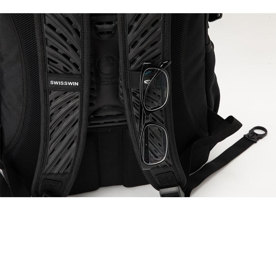 swisswin リュック リュックサック ビジネスリュック メンズ レディース 大容量 頑丈 通学 通勤 旅行 出張 アウトドア ビジネス リュック バッグ SW9017|swisswin|06