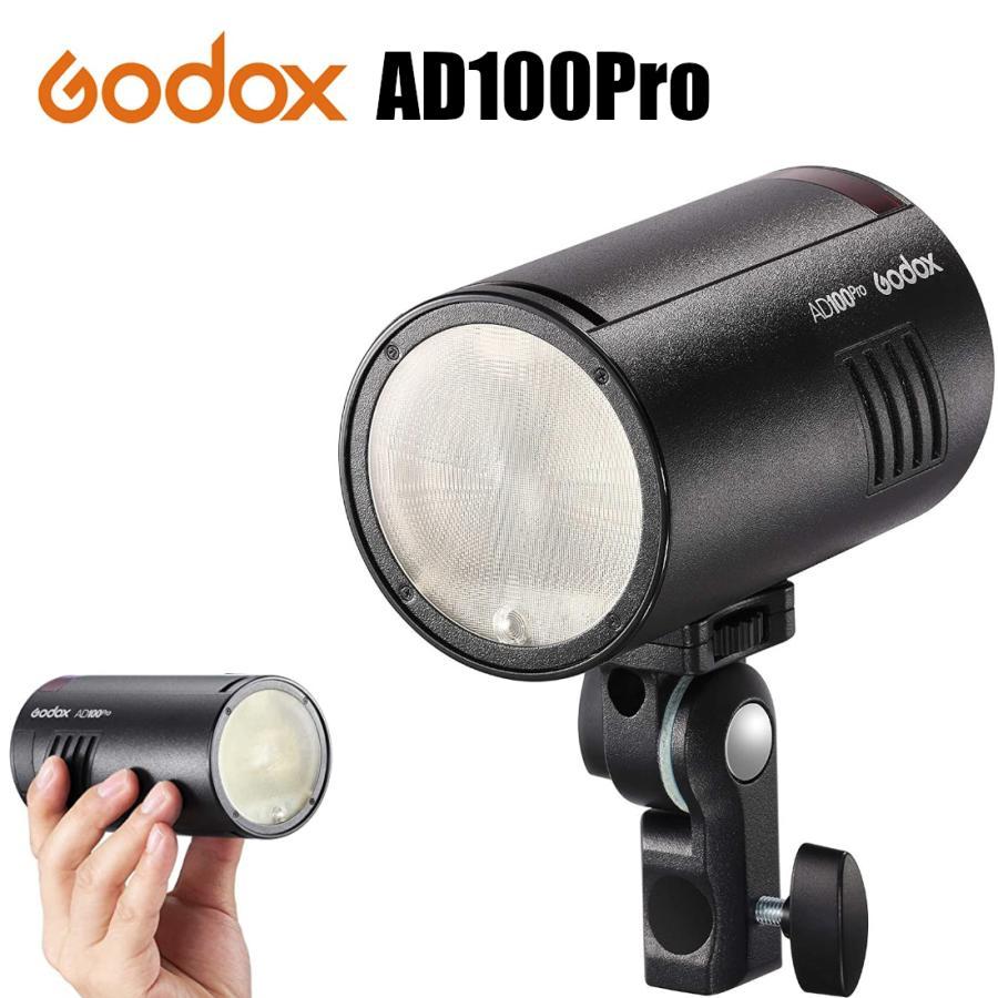 日本正規代理店品 GODOX AD100pro 照明 流行のアイテム ライト ゴドックス 新着セール 持ち運びケース付き ポータブルポケットフラッシュ