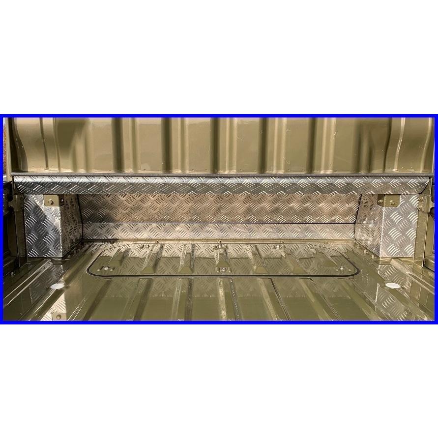 ★軽トラ キャビンバックアンダーパネル アルミ縞板 7点SET ハイゼットジャンボ S500P用|symy21|02