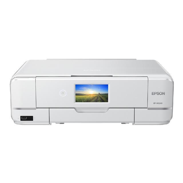 エプソン Colorio プリンター複合機 EP-982A3 35%OFF 6色独立インクジェット LAN 超特価 W-LAN レーベル印刷 プリンター H-USBx2 IrDA コピー A3 スキャナー